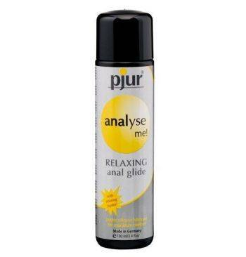 Gel anal lubricante y relajante Pjur Analyse me silicona 100ml