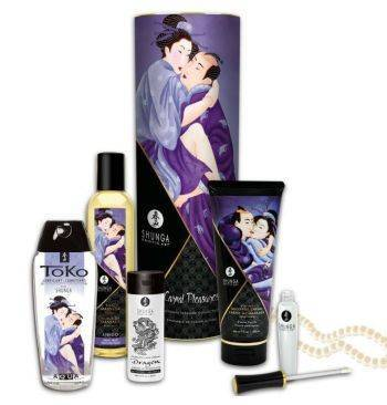 Kit Shunga colección placeres carnales 6uds
