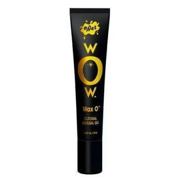 wet wow max o gel excitante clitorial