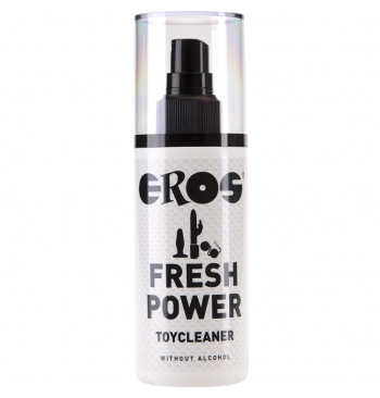 Limpiador de juguetes sin alcohol Eros Fresh Power 125ml