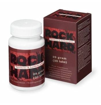 Potenciador sexual masculino Rock Hard Cobeco 30caps