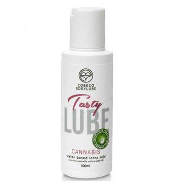 LUBRICANTE COMESTIBLE BASE DE AGUA TASTY LUBE CANNABIS 100 ML