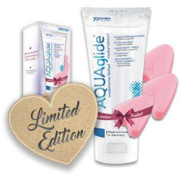 Kit lubricante Aquaglide 200ml + 3 tampones Love Bundle