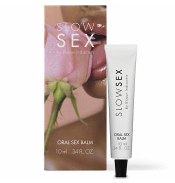 "Bálsamo refrescante para sexo oral ""Slow Sex"" 10ml"