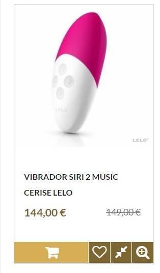 Comprar Vibrador Siri 2 Music Cerise Lelo
