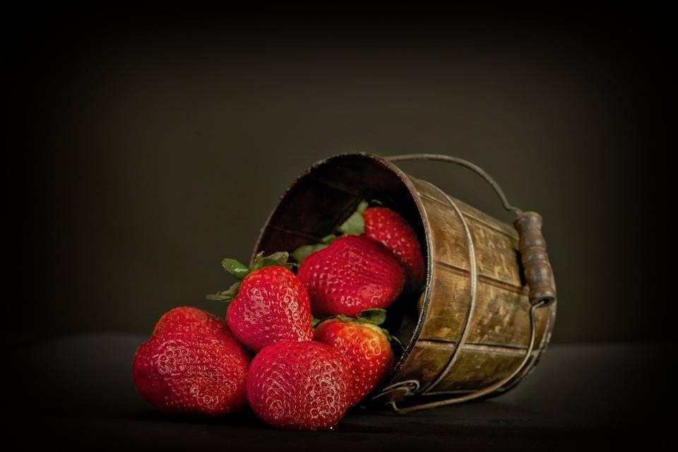 fresas afrodisiaca